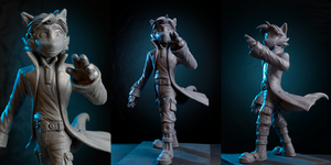 Dack Sculpt 2 by chemb0t