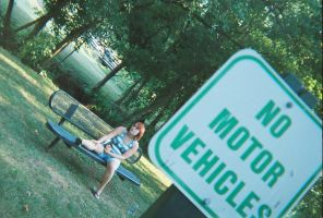 No Motor Vehicles by Sid-itego