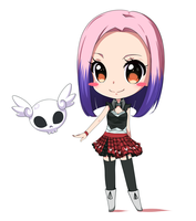 Commission - Chibi Reah - With Video by Rinine