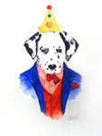 Suited dog birthday by Camilla94