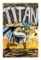 Mighty Titan Aternate Cover. by Highlander0423