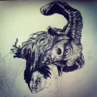 Pans Labyrinth (Work in progress) by loudsilence21
