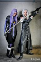 Caius Ballad and Sephiroth by Harker-Cosplay