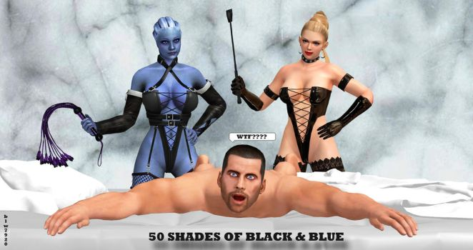 50 Shades of Black and Blue    2-7-2015 by blw7920