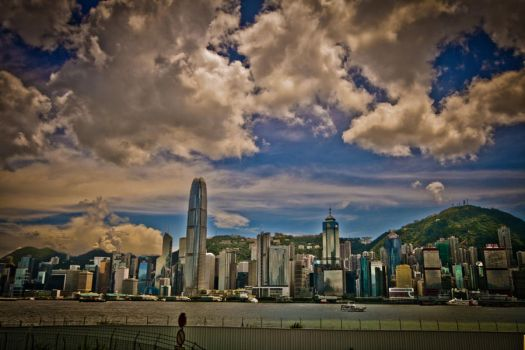 HK Island in the distance by wantok