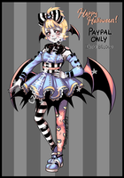[Closed] Halloween Adoptable by Czhe