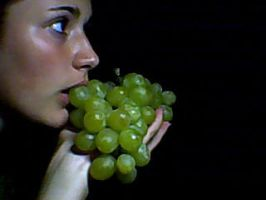 the sweet taste of grapes by steff1594