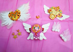 My Handmade Sailor Moon Stars Season Accessories by SailorSamara