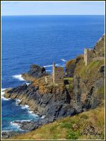 Botallack Mine by SweeneyTed