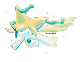 PokeCollab Jirachi by Midnitez-REMIX