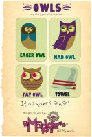 Owls by gogadgetgo
