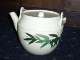 asian teapot by therickhoward