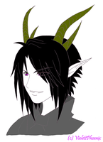 Hey - it's Lucifer Colored by ViolettPhoenix
