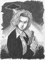 Scully from X-Files by Dogsupreme