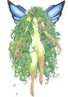 Nature Sprite by SoleiBee