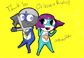 thank you OribiaXriolu by rainhorse