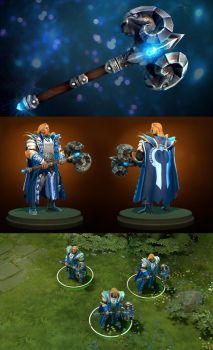 Dota2 Aries the Peacebringer by polyphobia3d