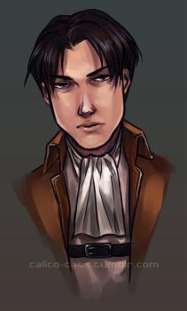 SnK - Rivaille by Cat-s-Art