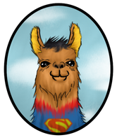 SUPER SUPERLLAMA by metal-marty