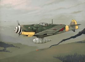 The Queen Hornet - BF-109G by Lionel23