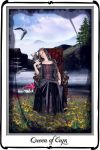 Tarot- Queen of Cups by azurylipfe