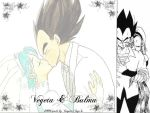 Bulma and Vegeta Wedding by vanpaiatenshi