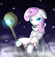 Moondancer White Mage by bigfatal21