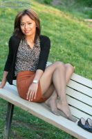 Nylon at the Park by PantyhoseClass