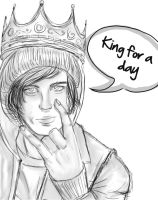 King for a day by Aidenny