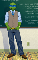 Professor Leo, TMNT U 2014 by Pimpypants