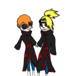 Rei and deidara Picture by Brightscales009