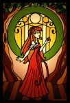 Enchanted stained glass by Lumosita