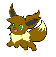 Rita the Eevee by dragovian15