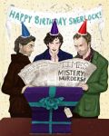 Happy Birthday Sherlock (Jan 06)! by sketchditto