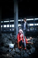 Guilty Crown_Departure by vicissiJuice