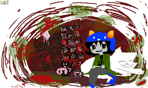 Nepeta phone wallpaper by Uri-Loves-Cookies