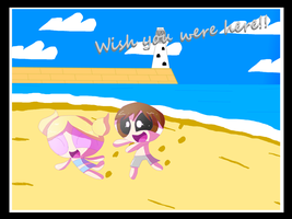 Wish you were here! by smithandcompanytoons