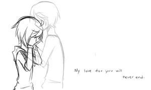 My love for you will never end by Tsuyaoi