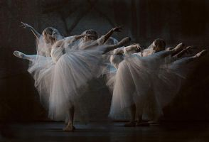 Giselle Act 2, Wilis by lawrencew