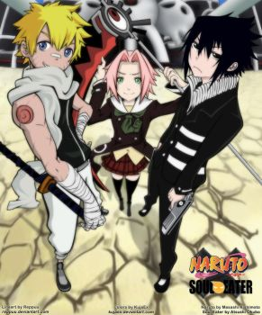 Naruto x Soul Eater by KujaEx