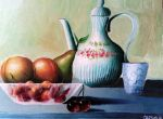 Fruits and Porcelain by DivinoArtista