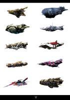 SPACESHIP DESIGNS by dasAdam