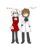 Aamir And Prince (version 1) by TrainerHarmony