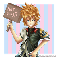 Not Roxas by Fiveonthe