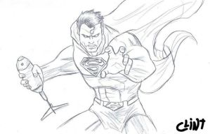 Superman by clint-comics