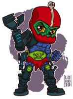 Lil Trap Jaw by lordmesa