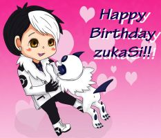Happy Birthday ZukaSi by ChocoGhost
