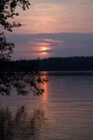 Saimaa Sunset Scenery 2 by wolfheart83