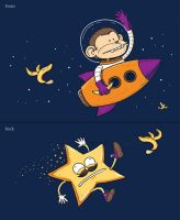 How Falling Stars are Made by h4nd