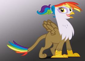 Rainbow Feather by HarukoHoshiko by Q99